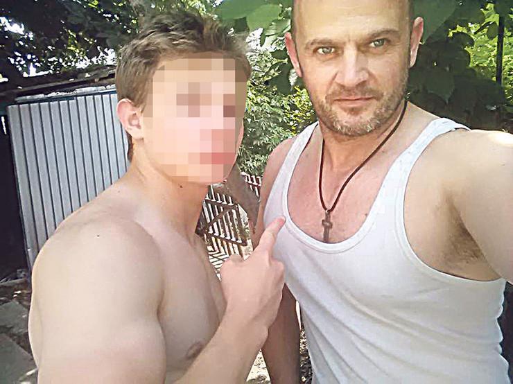 NIS07 Danilo Djordjevic sa ocem Milosem foto Privatni album