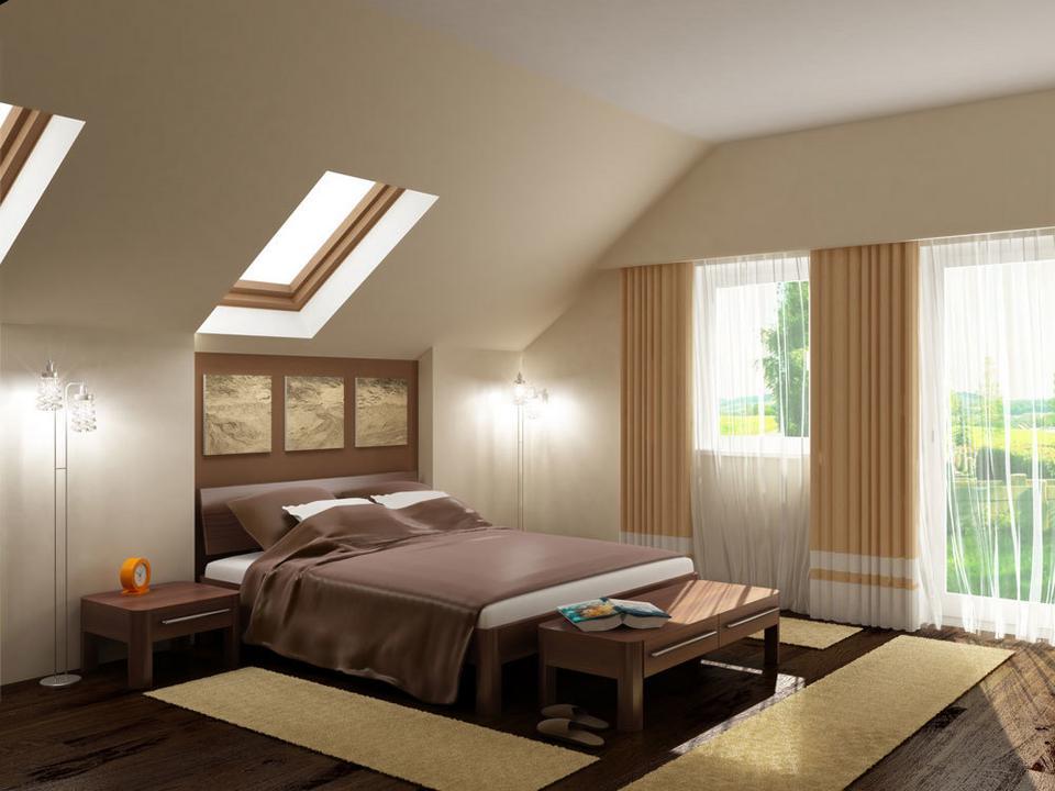 Sypialnia Na Poddaszu Dom