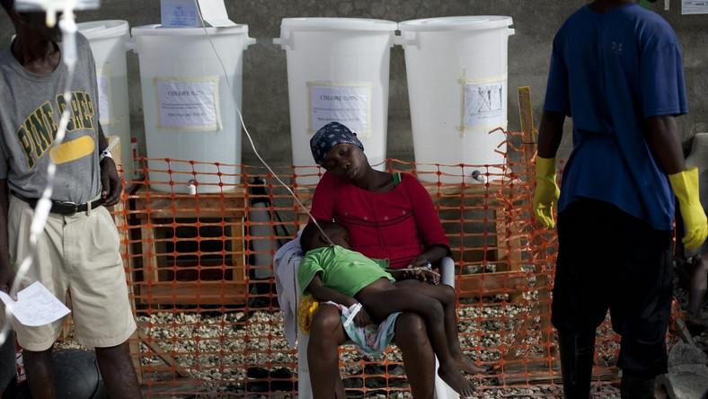 Cholera na Haiti zabija setki ludzi