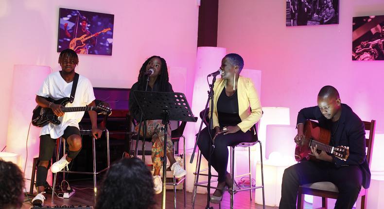 Eugene Masupo,Xenia Karungu,Sara Mitaru & Kevin Munyi