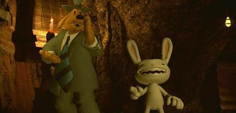 "Screen z gry ""Sam & Max: Devil's Playhouse – The Penal Zone"""