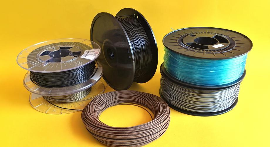 3D-Drucker: Filamente