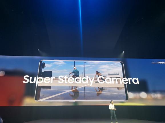 Super Steady tehnologija je jedan od noviteta kod Galaxy S serije