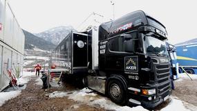 Inhalatory w norweskiej ciężarówce serwisowej