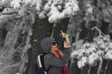 Fotografisanje zimske idile