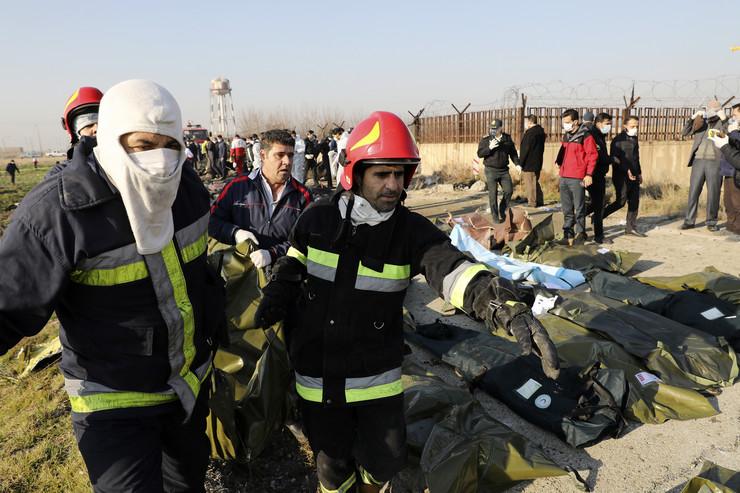 iran ukrajinski avion 15 foto Tanjug AP
