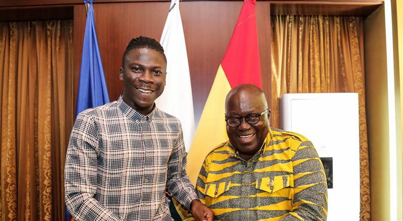 I endorse Nana Addo's achievements but I've not endorsed any political party - Stonebwoy
