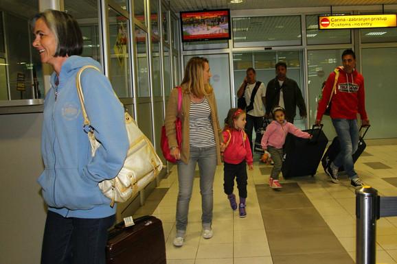 """Oštećeni putnici """"Junajteda"""" po povratku iz Egipta"""