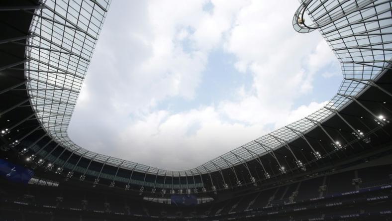 Tottenham's new stadium in London