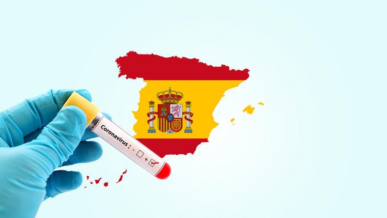Koronawirus. Hiszpania