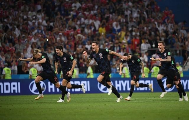 Slavlje Hrvata posle plasmana u polufinale Mundijala