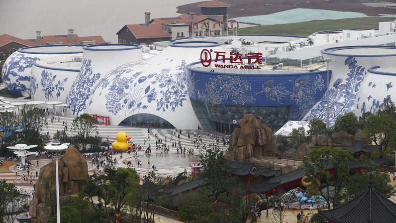 CHINA WANDA CITY OPENING (Wanda City for tourism opens in China's Jiangxi Province )