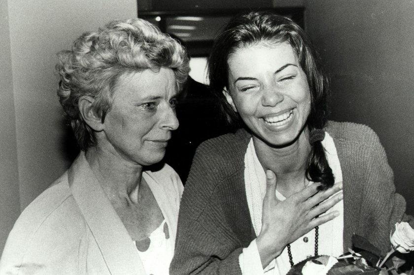 Edyta Górniak z mamą