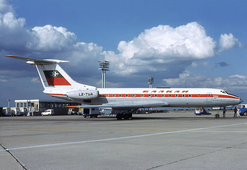 Samolot bułgarskich linii