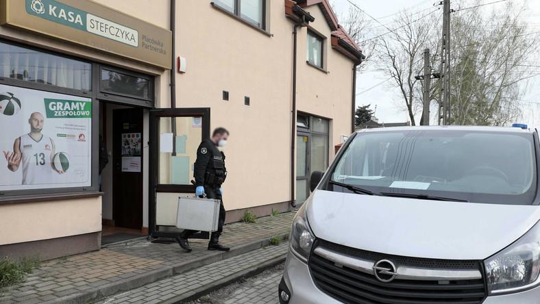 Napad na bank w Błoniu