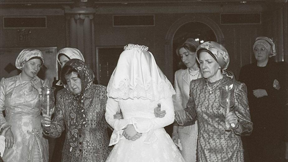 Deborah Feldman w dniu ślubu