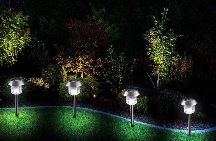 Dvorište, osvetljenje