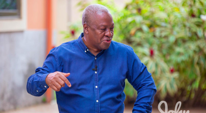 I moved Ghana's economy from 41.6b to 54.5b in four years – John Mahama