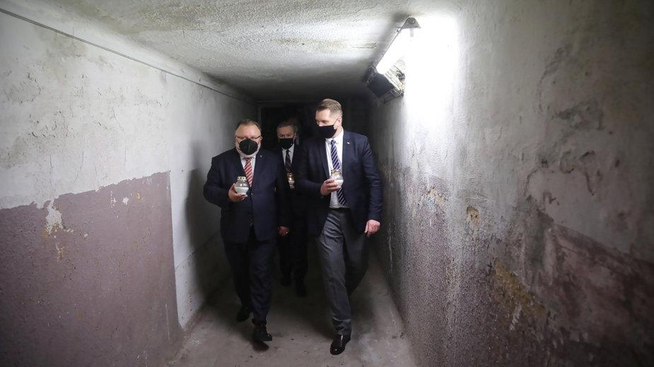 Piotr Gliński, Jacek Pawłowicz i Przemysław Czarnek