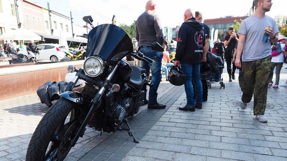 Zlot motocyklistów w Jaworznie