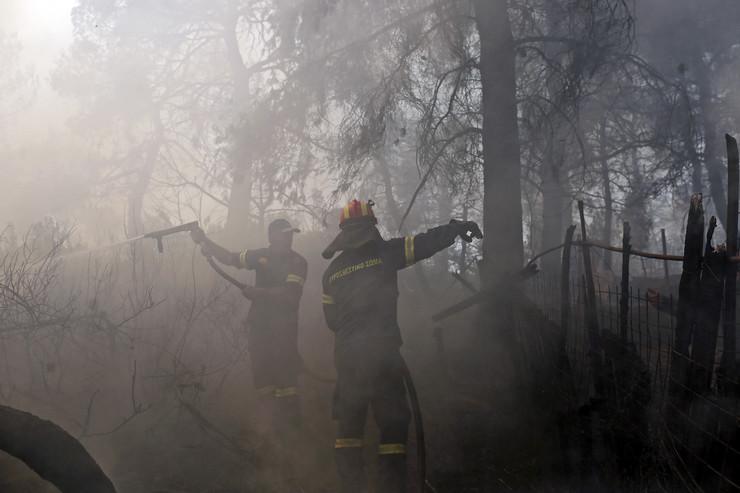 Evija požar