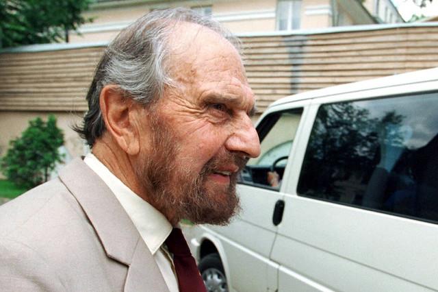 Džordž Blejk u junu 2001. u Moskvi