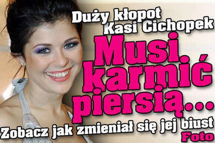 Kasia Cichopek w gorsecie - Super Express