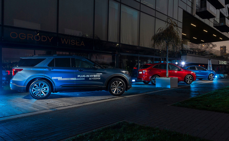 Ford Explorer Plug-In Hybrid, Kuga i Puma