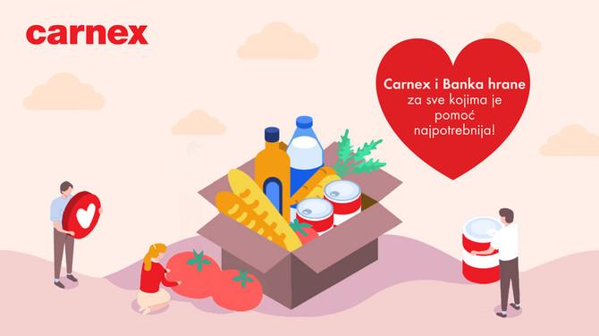Carnex- donacija Banci hrane