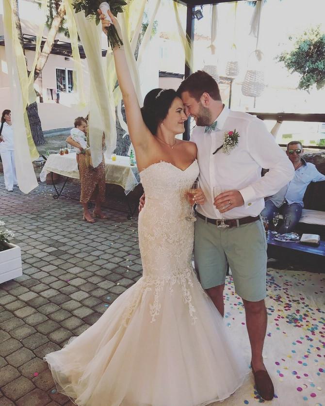 Na venčanju je izgledala kao princeza