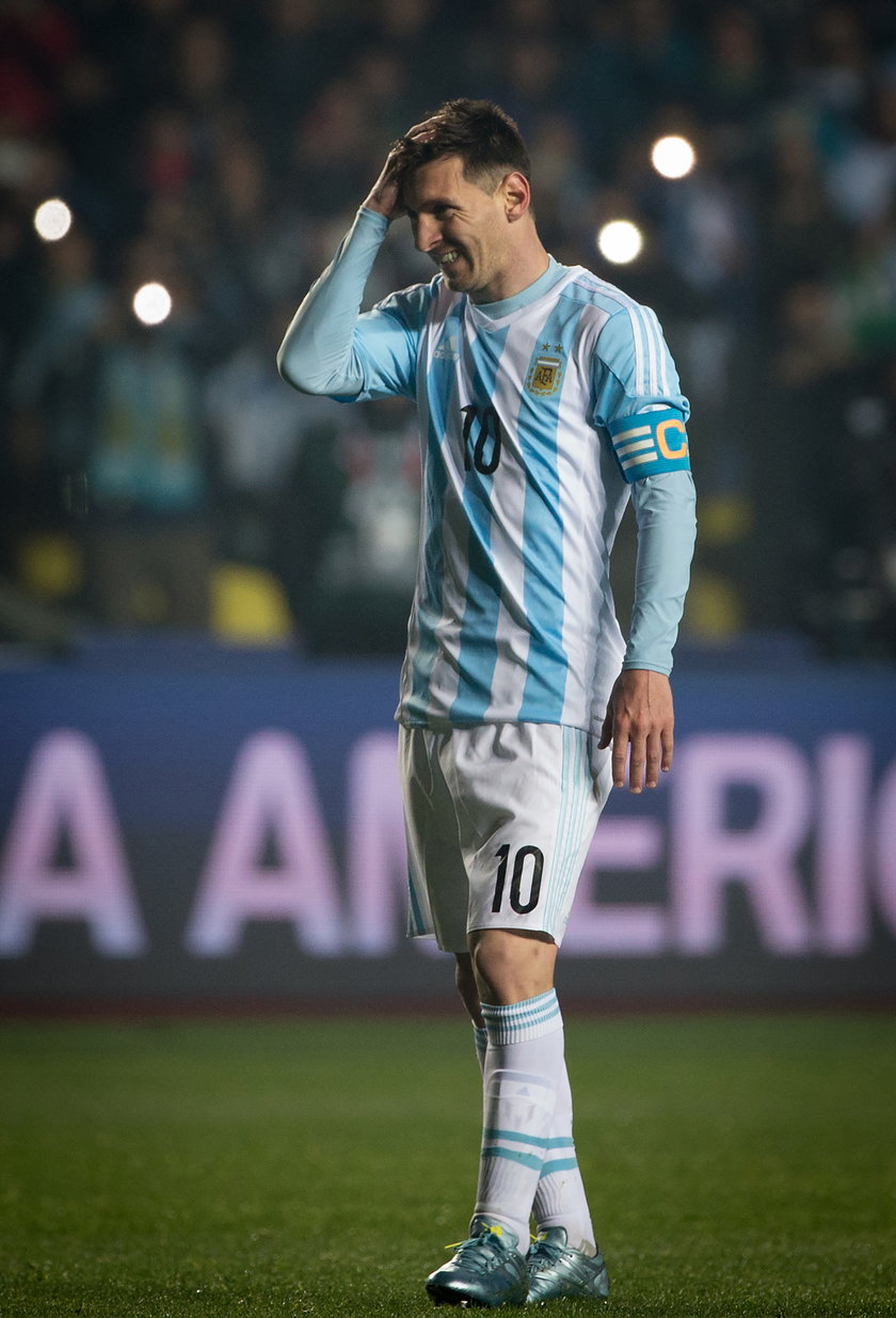 To już pewne Messi nie pojedzie na igrzyska w Rio