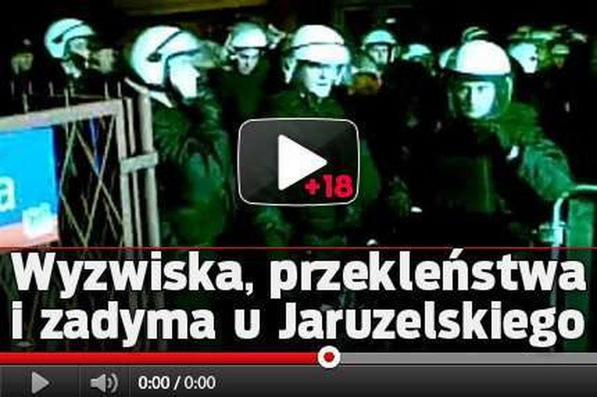 Wyzwiska, przekleństwa i zadyma u Jaruzelskiego. Film od 18 lat