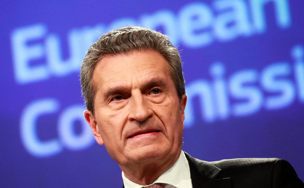 Komisarz Guenther Oettinger