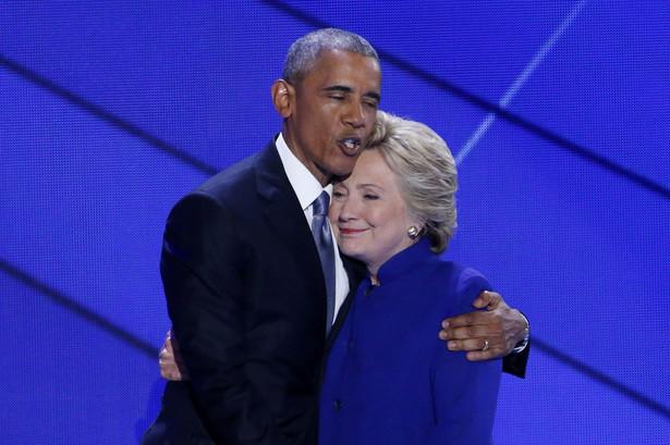 Obama popiera Clinton jako swą następczynię