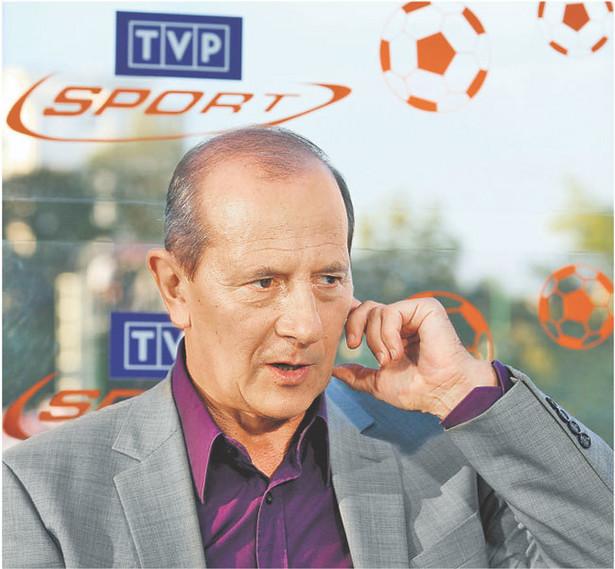 Szef TVP Sport Włodzimierz Szaranowicz martwi się o przyszłość swojej stacji Fot. East News