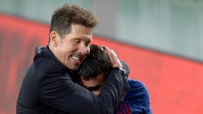 Simeone tells hobbling Atletico to 'resist' in La Liga title push