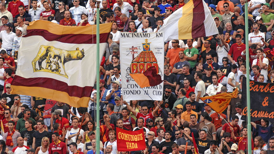Kibice AS Roma