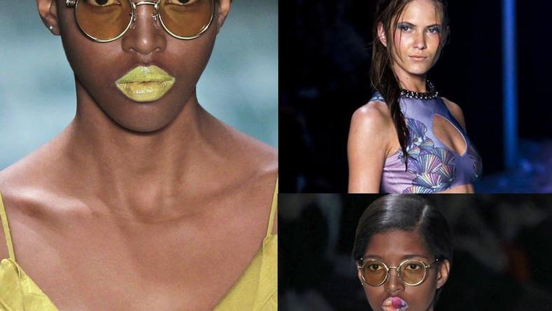 Kolorowe makijaże: zobacz zdjęcia z wybiegu!