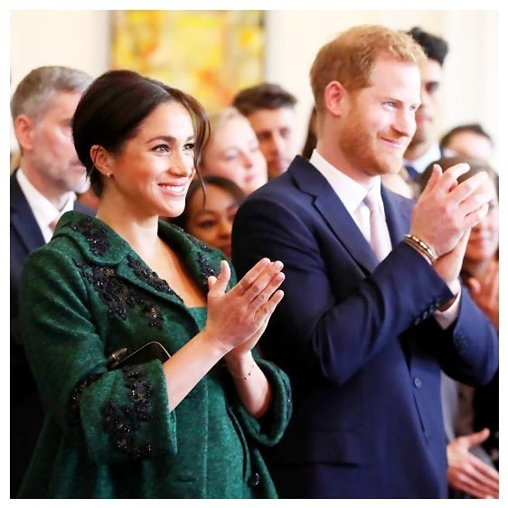 There are reports that Prince Harry and his wife, Meghan Markle have both been barred from using the 'Sussex Royal' label going forward. [Instagram/SussexRoyal]
