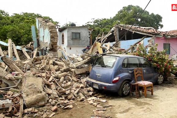 Zemljotres jačine 5,1 stepeni potresao Meksiko