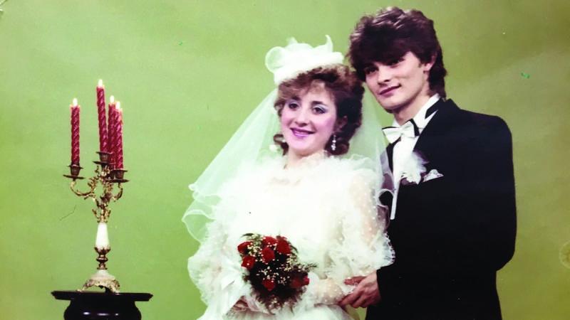 Zenon Martyniuk z żoną Danutą