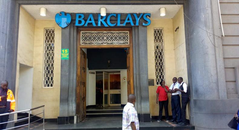 Barclays Bank Queensway branch, where DCI is probing fake currency bust