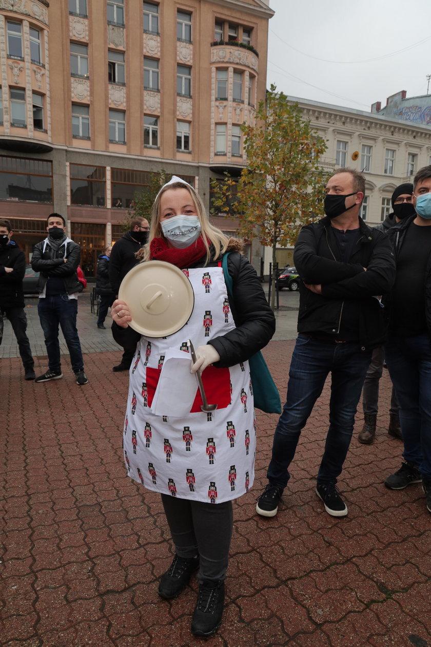Protest branży gastronomicznej