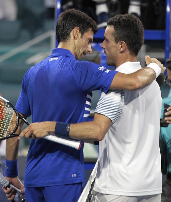 Novak Đoković i Roberto Bautista Agut