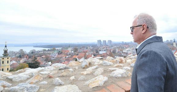 Goran Vesić, zamenik gradonačelnika