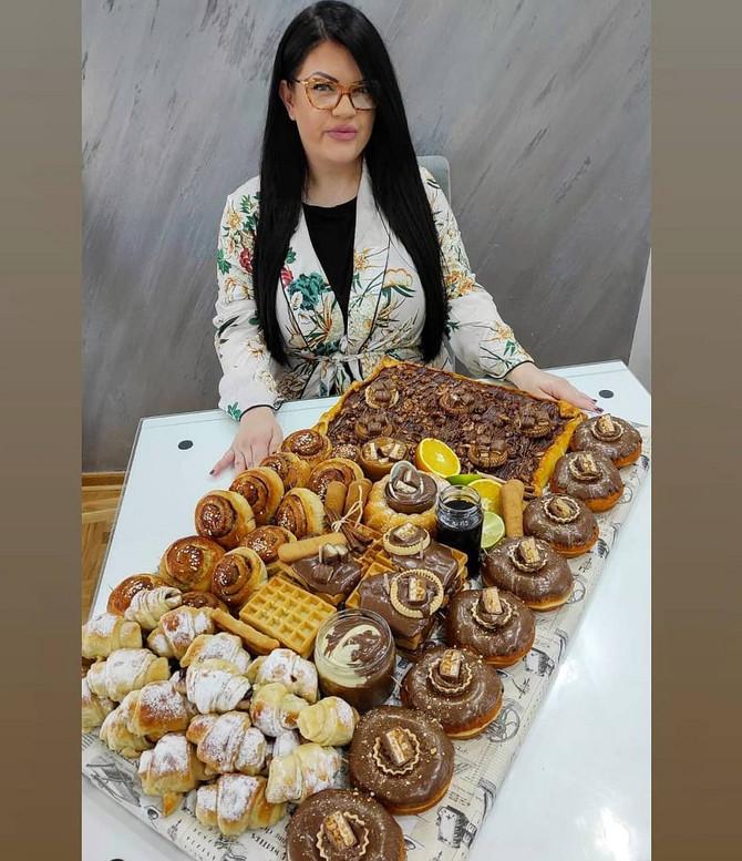 Miljana Ivanović u svojoj kuhinji sprema ovakva posluženja