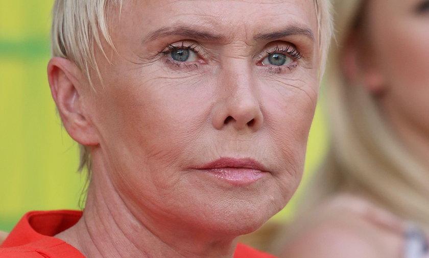 Ewa Błaszczyk, aktorka i założycielka kliniki Budzik
