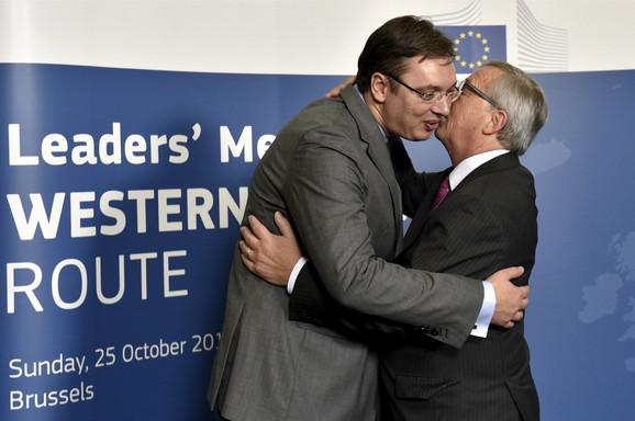 Susret Vučića i Junkera