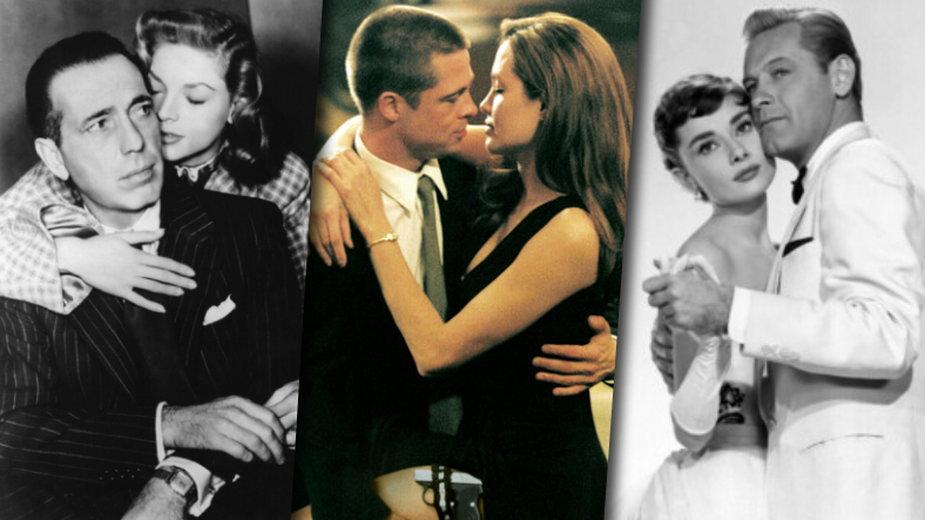Humphrey Bogart i Lauren Bacall, Brad Pitt i Angelina Jolie, Audrey Hepburn i William Holden