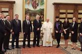 Clanovi predsednistva BiH papa Franjo prijem Vatikan